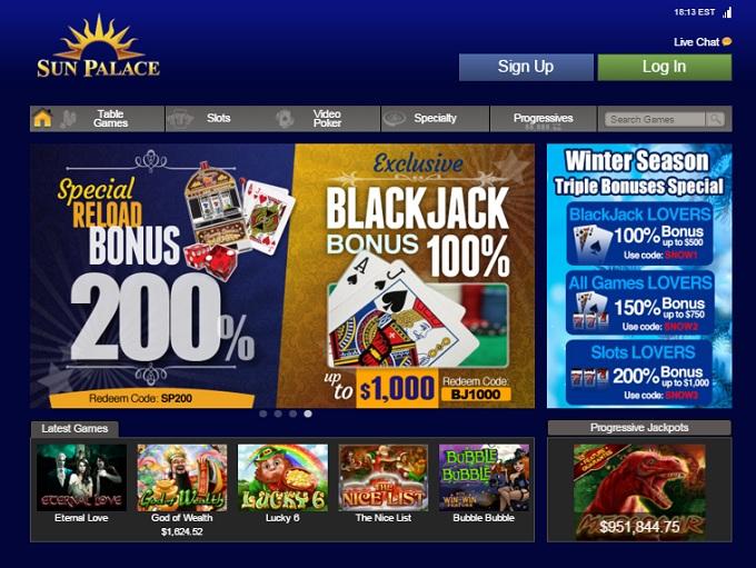 Online Casino Sun